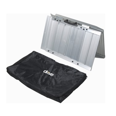 Drive Medical Single Fold Wheelchair & Scooter Ramp with Storage Bag