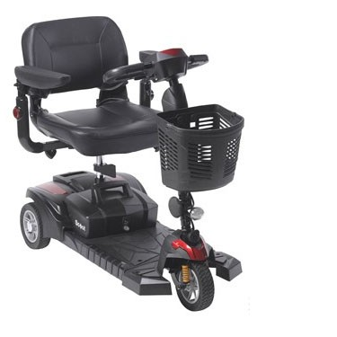 Drive Medical Spitfire DST 3 Wheel Travel Scooter