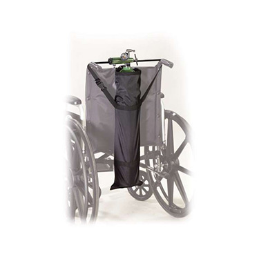 """Drive Medical Wheelchair """"D"""" and """"E"""" Oxygen Cylinders Carry Pouch"""