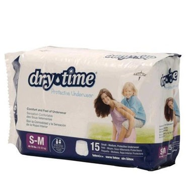 Medline DryTime Protective Youth Underwear