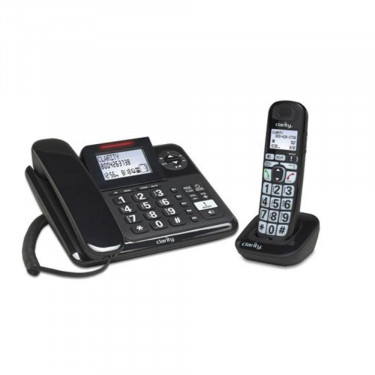 Clarity E814 Amplified Corded/Cordless Combo with Answering Machine