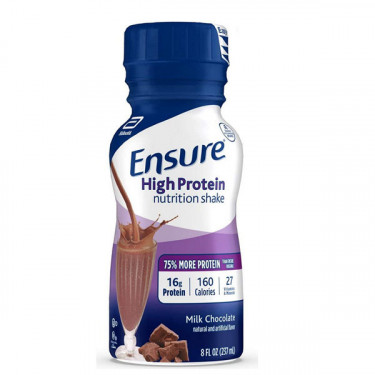 Ensure 8 oz. Bottle High Protein Therapeutic Nutrition Shake