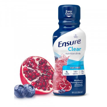 Ensure Clear 10 oz. Blueberry Pomegranate Protein Drink