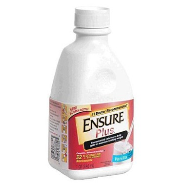 Ensure Plus 32 oz. Bottle Nutritional Supplement Shake