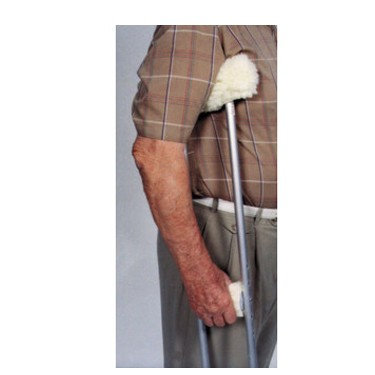 Essential Medical Sheepette Crutch Cover Set