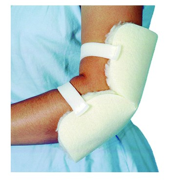 Essential Medical Sheepette Synthetic Sheepskin Elbow Protector