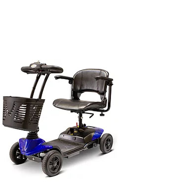 eWheels EW-M35 Lightweight Four Wheel Medical Mobility Scooter