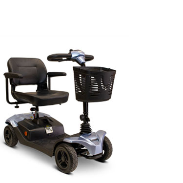 eWheels EW-M41 Four Wheel Medical Mobility Scooter