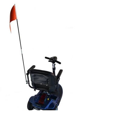 eWheels Scooter Flag with mounting hardware