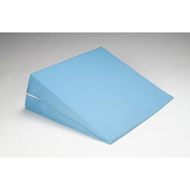 Hermell Foam Bed Wedge With Cover - Blue