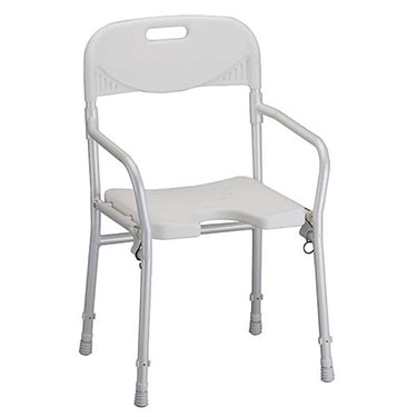 Foldable Shower Chair with Back by Nova