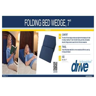 Folding Bed Wedge by Drive Medical