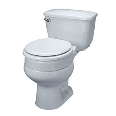 Maddak Tall-ette Hinged Elevated Toilet Seat
