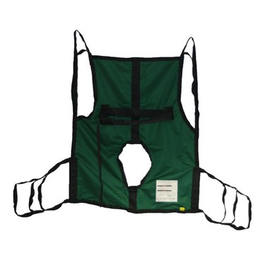 Hoyer One Piece Sling With or Without Commode Cut Out