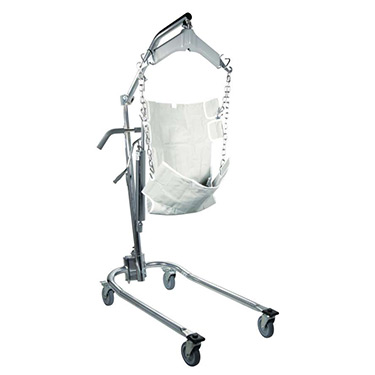 Hydraulic Deluxe Chrome Plated Patient Lift