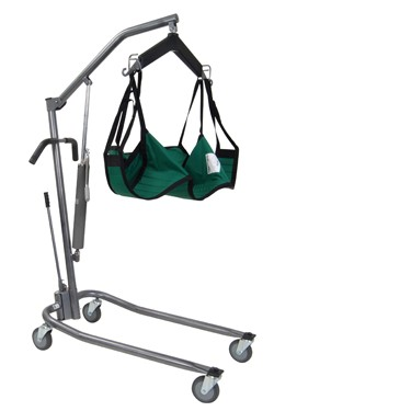 Hydraulic Patient Lift with Six Point Cradle and 5