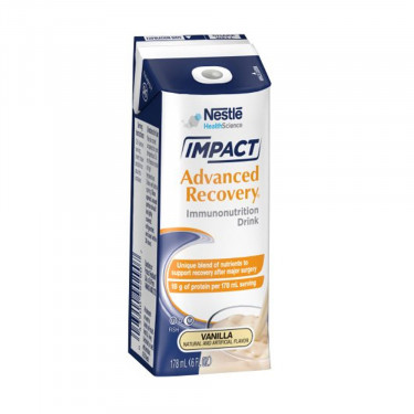 Impact Advanced Recovery Vanilla 6 oz. Oral Supplement