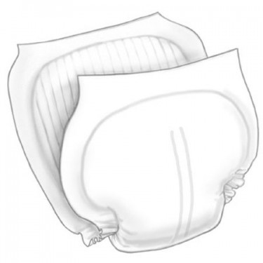 Wings Moderate Incontinence Liner- 27 Inch