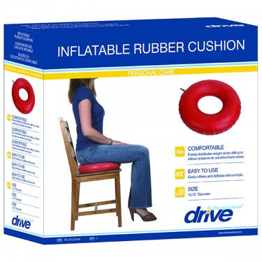 Inflatable Rubber Cushion by Drive Medical