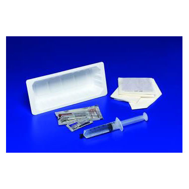 Kenguard Insertion Tray without Catheter - Sterile - PVP Swab Style