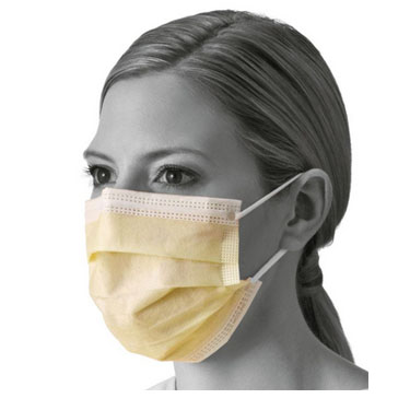 Isolation Face Masks with Earloops