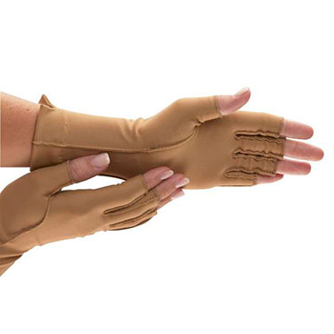 Isotoner Therapeutic Open-Finger Gloves