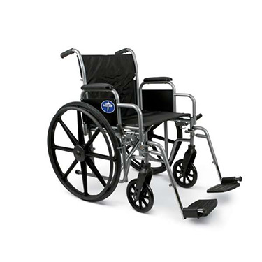 K1 Basic Extra-Wide Wheelchairs by Medline