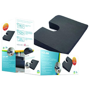 K2 Health Products Super Compressed Coccyx Cushion