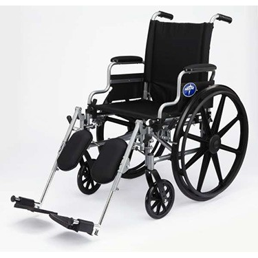 Medline Excel K4 Basic Lightweight Wheelchair