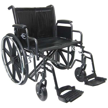 Karman Extra Wide Heavy Duty Wheelchair - Commercial
