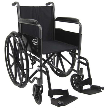 Karman Lightweight Wheelchair (Fixed Full Arms)