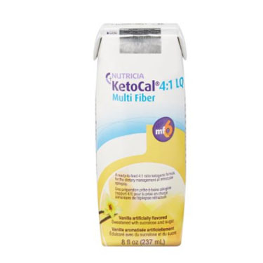 KetoCal Oral Supplement Vanilla Carton