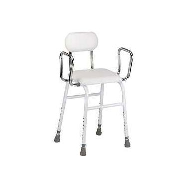 Kitchen Stool with Removable Arms