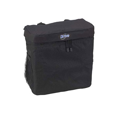 Large, Deluxe Carry Pouch Attaches Easily to Standard Wheelchairs