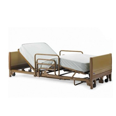 Phomvantage Low Hospital Bed With Rails by Invacare