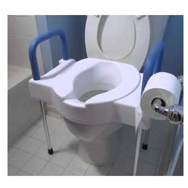 Maddak Ableware® Tall-Ette® Extra Wide Toilet Seat with Steel Frame