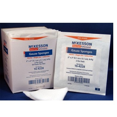 McKesson Sponge Cotton Gauze