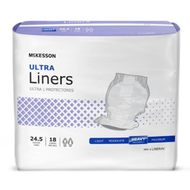 McKesson Ultra Incontinence Liner