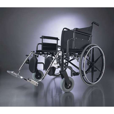 Medline Excel Bariatric Shuttle Wheelchair- 24
