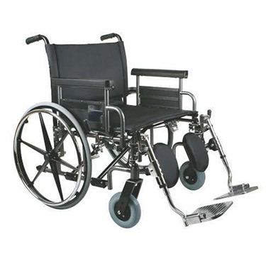 Medline Excel Bariatric Shuttle Wheelchair- 26, 28