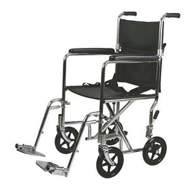 Medline Steel Transport Wheelchair