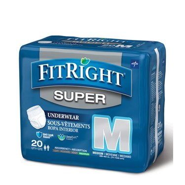 Medline FitRight Super Protective Underwear