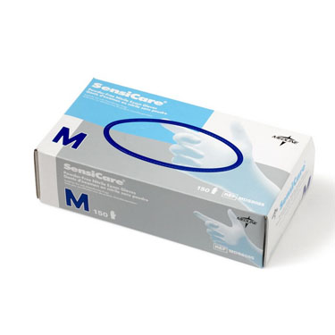 Medline SensiCare Nitrile PF Exam Gloves