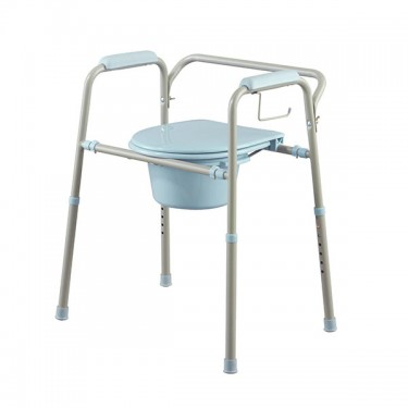 Medline Steel Commode With Microban