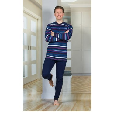Men's Anti-Strip Jumpsuit with a Zipper-Back and Crotch, Long Legs, and Long Sleeves by 4Care