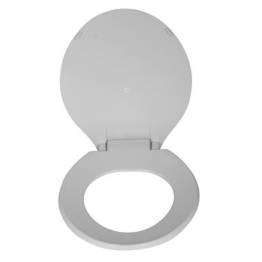 Oblong Oversized Toilet Seat with Lid