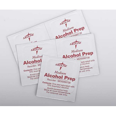 Medline Sterile Alcohol Prep Pads - 2 Ply