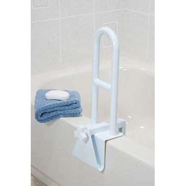 Parallel Steel Clamp on Tub Rail by Drive Medical