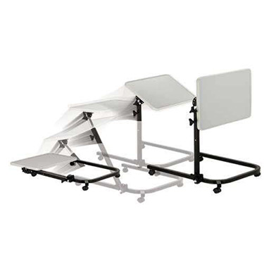 Deluxe Pivot & Tilt Overbed Table by Drive
