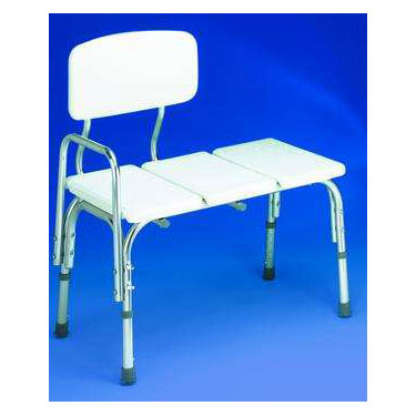 Plastic Bathtub Transfer Bench by Carex